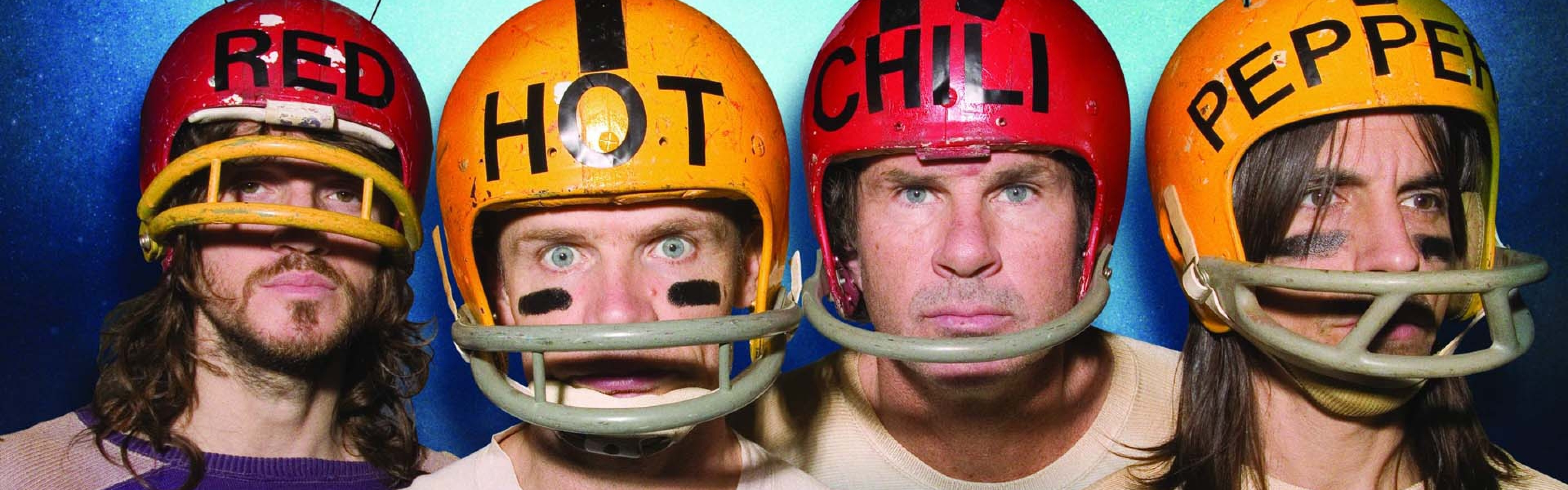 red_hot_chili_peppers_band_members_helmets_words_3763_3840x1200